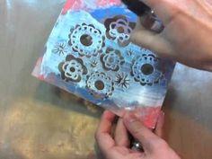 Tecnicas de pintura c/ gesso