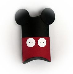 Mickey Mouse Pillow Treat Favor Boxes Set of 12 by Whootsies, $15.99