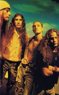 "Alice in Chains ""Dirt"" photo shooting"