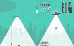 Opere 35 by D'Apostrophe, cover by Simone Massoni
