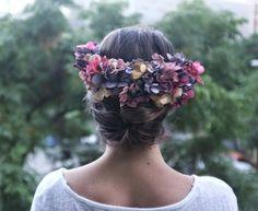 Flores para el look de la novia de Bornay