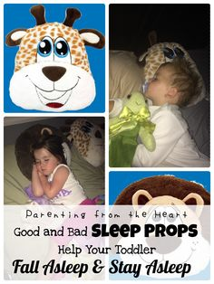 Good and Bad Sleep Props: Help Get your Infant/ Toddler to Fall Asleep and Stay Asleep |  Parenting from the Heart   My Happy Pillow review #toddlersleep #infantsleep #sleepconsultant #review #kids #babies #toddlers #parenting #sponsored