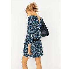 Robe droite imprimée fleurs Robe Droite, Mode Femme, Fleurs, Robes Courtes,  Mini 9292f7d3af39