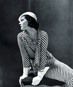 1931, Exiled Russian princess, Natalia Paley in Lucien Lelong dress for Vogue