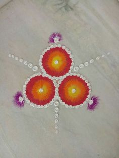 Diya decoration