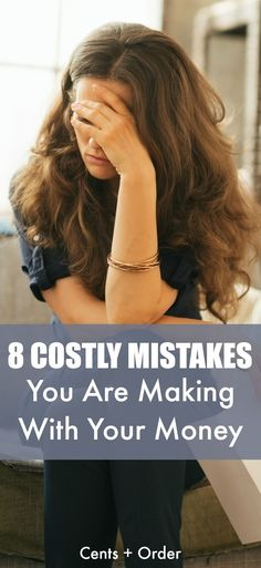 8 mistakes you are probably making with your money! Avoid these common money mistakes that are keeping you from reaching your financial goals. Ways To Save Money, Money Tips, Money Saving Tips, Money Hacks, Baby Massage, Frugal Living Tips, Frugal Tips, Managing Your Money, Financial Goals