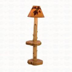 Fireside Lodge Furniture Cedar Floor Lamp