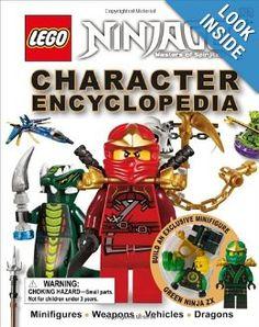 Amazon.com: LEGO Ninjago: Character Encyclopedia (9780756698126): DK Publishing: Books