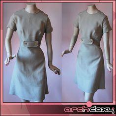 Vintage 1960s MOD Scooter Top Stitched Beige Wool SKA Carnaby St Twiggy Dress #vintage #mod  http://www.ebay.co.uk/itm/Vintage-1960s-MOD-Scooter-Top-Stitched-Beige-Wool-SKA-Carnaby-St-Twiggy-Dress-12-/371593268270?ssPageName=STRK:MESE:IT