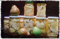 Hruškový kompot z trouby Root Cellar, Honeydew, Garlic, Dairy, Cheese, Fruit, Vegetables, Cooking, Breakfast