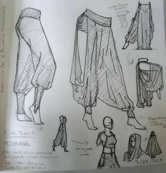 Sketch Inspiration, Character Design Inspiration, Character Design Tutorial, Fashion Design Drawings, Fashion Sketches, Drawing Fashion, Clothing Sketches, Drawing Reference Poses, Drawing Ideas