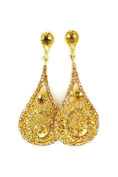 Crystal Elizabeth Earrings