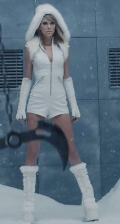 """Pin for Later: See Every Fierce Look From Taylor Swift's """"Bad Blood"""" Music Video"""