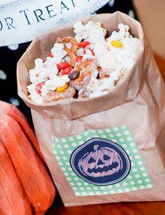Halloween Paper Treat Sack