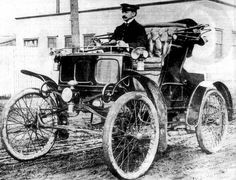 Nov. 6: James Packard drives the first Packard on this date in 1899