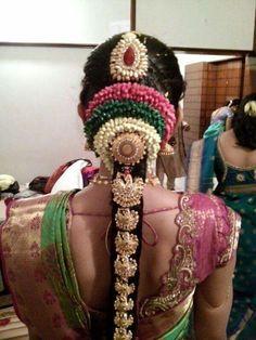 Gorgeous bridal hair do