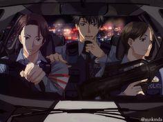 Joker Game: fan arts || Miyoshi, Sakuma y Hatano