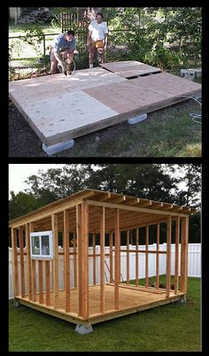 Shed Plans - RyanShedPlans - 12000 Shed Plans with Woodworking Designs - Shed Blueprints Garden Outdoor Sheds RyanShedPlans - Now You Can Build ANY Shed In A Weekend Even If You've Zero Woodworking Experience! Backyard Sheds, Outdoor Sheds, Outdoor Gardens, Backyard Office, Outdoor Storage Sheds, Backyard Studio, Backyard Plants, Modern Gardens, Small Gardens