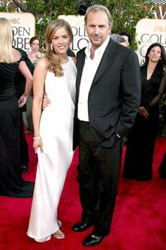 Kevin Costner & his daughter Lily Costner in 2004