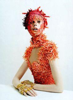 Julien d'Ys Vogue May 2012/ coral AmcQ