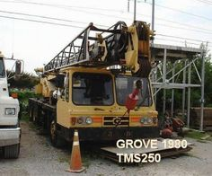 The Grove Tms250 has been manufactured in 1980 and been in service since the last 3 decades. All these years of service have not, by any means made this machine frail. Maintenance and regular checks on this crane have been done periodically and this has kept it going through all these years. It looks good for another decade at least. It is heavy duty crane and will come in handy for all kinds of precarious commercial lifting jobs.
