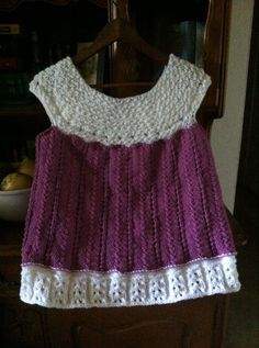 Knitted Angel Wings Dress