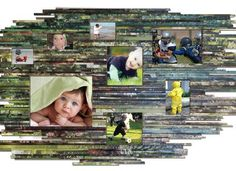 This recycled pictures frame is made from individual strips of cardboard wrapped by magazines. These colorful building strips are then stacked and joined together by acid free glue to make the design frame x x 2 Creative Photo Frames, Creative Pictures, Art Pictures, Photos, Family Pictures, Magazine Photo Frame, Magazine Pictures, Paper Picture Frames, Rolled Paper Art