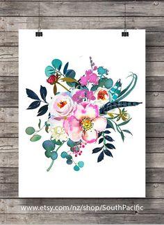 Digital art | Fleurs de pivoines roses aquarelle | peint imprimé botanique fleurs de pivoines eucayptus | Art mural imprimable 16 x 20 imprimer facilement redimensionnée à 8 x 10. FAIT AVEC AMOUR ♥ ____________________________ Imprimer autant de fois que vous le souhaitez, très bien pour un usage personnel et petit usage commercial. -------------------------------------------------------------------------------------- Après que le paiement est confirmé, vous serez à la page de…