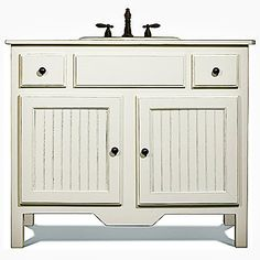 Good Find This Pin And More On Bathrooms By Ritaslikes. Freestanding Vanity   Bead  Board ...