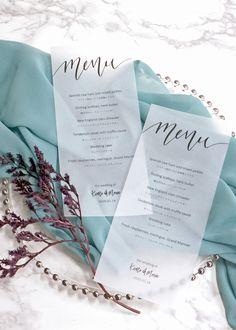How To Choose A Tasty Wedding Menu – Wedding Candles Ideas Wedding Menu Template, Wedding Menu Cards, Cheap Wedding Invitations, Wedding Paper, Wedding Catering, Catering Menu, Plan Your Wedding, Wedding Ideas, Wedding Tables