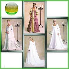 STUNNING Renaissance Wedding Dress Pattern