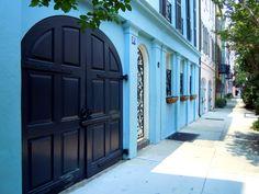 Rainbow Row -- Charleston, SC