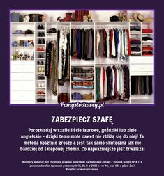 Wardrobe Organisation, Organization, Home Hacks, Utila, Clean House, Housekeeping, Good To Know, Cleaning Hacks, Diy And Crafts