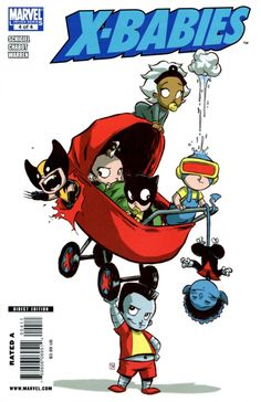 X-Babies #4 - X-Babies: Stars Reborn, Chapter 4: All-Ages Revolution (Issue)