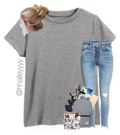 """♡ DAY TRIP ♡ + #premadesbyhailey"" by hhaileyyyy on Polyvore featuring Liberty, Popband, Herschel Supply Co., hhaileyyyy and premadesbyhailey"