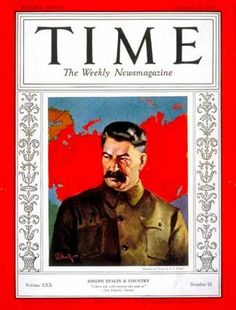 Joseph stalin time man of the