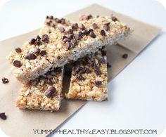 Granola bars (no bake)