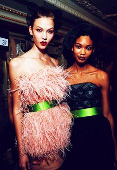 i love feathers #fashion