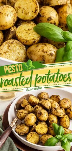 Prepare to be addicted to this baby potato side dish! This tasty dinner recipe is super quick and easy to prepare and perfect when cooking for two. Packed with the herby flavor of pesto, these oven…