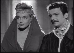 """1951-Sortie du film """"Casque d'Or"""" de Jacques Becker avec Simone Signoret et Serge Réggiani"""