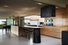 This is the modern designed kitchen area.