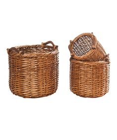 Take a look at this Rustic Basket Set by Wilco on #zulily today!
