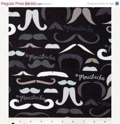 It's a Moustache - Flannel