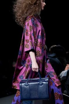 FILE - In this Feb. 11, 2013 file photo, a model walks the runway during the Marc by Marc Jacobs Fall 2013 fashion show during Fashion Week,...