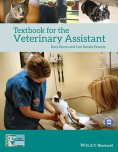 Textbook for the Veterinary Assistant (EHEP003155): we could use a copy of this at work!