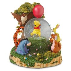 Disney Winnie the Pooh and the Honey Tree Snowglobe