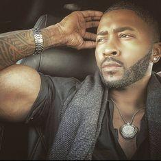 Hot Black Guys, Fine Black Men, Gorgeous Black Men, Handsome Black Men, Fine Men, Beautiful Men, Black Man, Beautiful People, Eye Candy Men