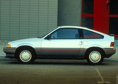 1986 Honda Civic CRX.  First car.  AWESOME!!!!