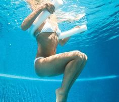 Perfect for the hotter days of summer, this pool workout will get you results fast.