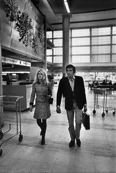 Brigitte Bardot and Gunter Sachs by Raymond Depardon, 1967